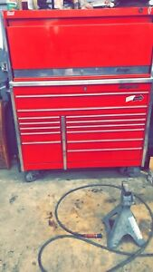 Snap On Tool Box Special Edition Candy Apple Color