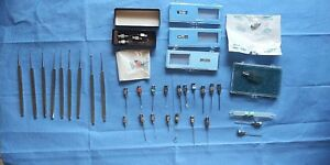Storz miltex Eye Instruments More Lot Of 38 Psc good Condition