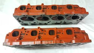 Big Block Chevy Heads 781 Casting 454 Very Good Condition