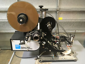 Dennison System 900 Automatic Labeling Machine Tested And Working