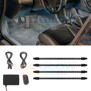 4pc Ledglow White Expandable Smd Led Interior Lights Kit Lu in w smd 4pc