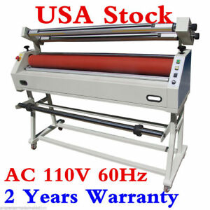 Us Stock Ving 63 Master Mounting Cold Laminator Semi auto Wide Format