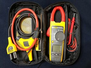 Fluke 374 W iflex 18 Flexible Current Probe And Carry Case