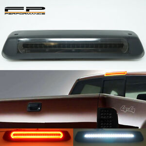 For 04 08 Ford F150 Optic Style Led 3rd Third Brake Light Cargo Lamp Smoked Lens