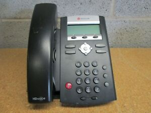Lot Of 7 Polycom Soundpoint Ip 331 Phone With Handset No Ac Used