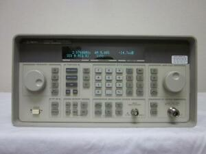 Hp Agilent 8648b 9 Khz To 2 Ghz Synthesized Signal Generator