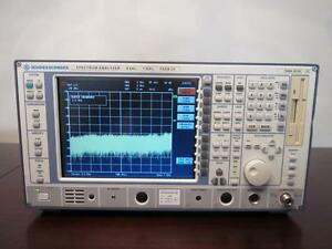 Rohde Schwarz Fseb 20 9khz To 7ghz Spectrum Analyzer Calibrated