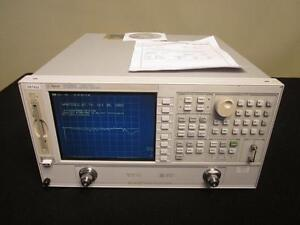 Agilent 8722es 50 Mhz To 40 Ghz Vector Network Analyzer W Opt 1d5 Calibrated