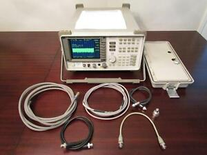 Hp Agilent 8562a 1 Khz To 22 Ghz Portable Spectrum Analyzer W Color Lcd