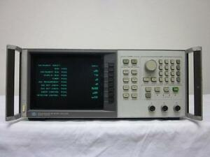 Hp Agilent 8757a 10 Mhz To 60 Ghz Scalar Network Analyzer Calibrated