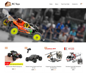 Established Rc Toys Turnkey Website Business For Sale Profitable Dropshipping