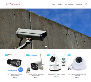 Cctv Cameras Turnkey Website Business For Sale profitable Dropshipping