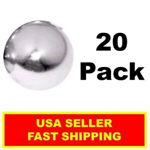 Neodymium Sphere Magnet 1 2 Inch N52 super Strong Ball Rare Earth 20 Pack