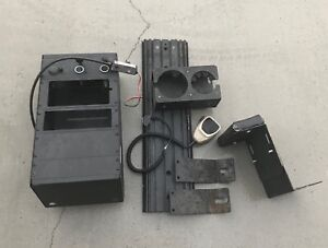 Jotto Desk 98 11 Ford Crown Victoria Interceptor Police Console With Mount 9