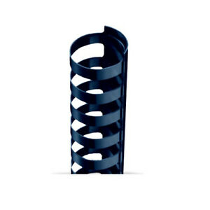 1 4 A4 Size Navy Plastic Binding Combs 21 Rings 100pk