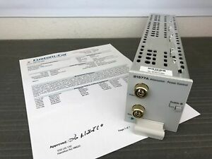 Agilent 81577a Variable Optical Attenuator Module W Power Control Calibrated