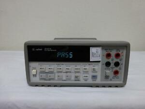 Agilent Hp 34401a 6 5 Digit Digital Bench Multimeter Dmm W Gpib Rs 232