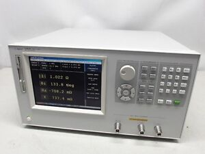 Agilent Hp 4287a 1 Mhz To 3 Ghz Rf Lcr Meter With Fresh Calibration
