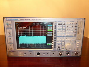 Rohde Schwarz Fsiq26 20hz 26 5ghz Spectrum Signal Analyzer W Tracking Gen