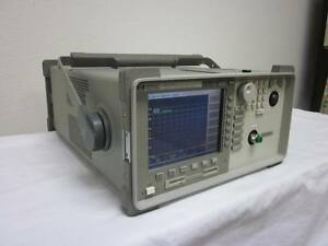 Agilent Hp 86145a 600 To 1700nm Portable Optical Spectrum Analyzer Calibrated
