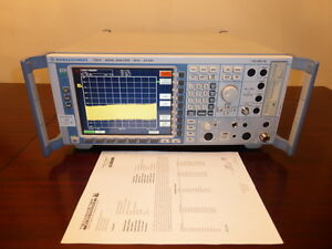 Rohde Schwarz Fsq8 20hz 8 Ghz Spectrum Signal Vector Analyzer W Opt K70