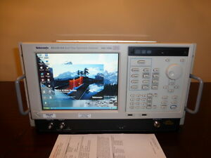 Tektronix Rsa6114a 9 Khz 14 Ghz Real time Spectrum Analyzer Calibrated