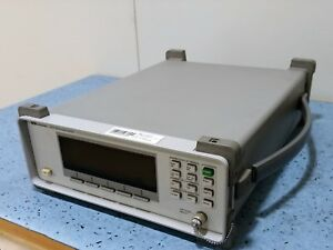 Keysight Agilent Hp 86120c Multi wavelength Meter 1270 Nm To 1650 Nm