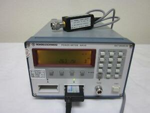 Rohde Schwarz Nrvd Dual Channel Power Meter With Nrv z51 18 Ghz Sensor