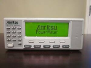 Anritsu Ml2437a Single Channel High Accuracy Power Meter 10 Mhz 110 Ghz