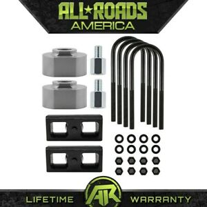 Ful Lift Kit Front Spacers 2 Rear Blocks 2 Fits 83 96 Ford Ranger 4x2