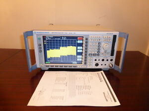 Rohde Schwarz Fsp30 9 Khz To 30 Ghz Spectrum Analyzer Calibrated