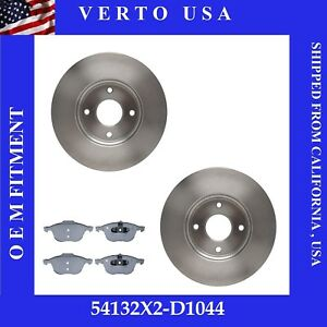 Front Brake Rotors Pads For Ford Focus 2005 2006 2007