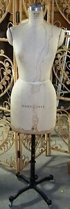 Vintage 1982 Wolf Mannequin dress Form Size 8