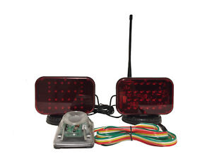 Fully Wireless Magnetic Tow Lights That Ensure Legal Transport Of Vehicles
