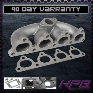 88 00 Honda Civic Turbo Manifold Cast Iron For D Series Engine D16 D15 T3 T4