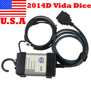 Usa Ship Low Cost 2014d Vida Dice Diagnostic Tool Mult languages Fit For Volvo