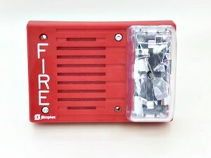 Simplex 4903 9217 Signal Chime Audible Fire Alarm Horn Strobe new