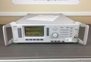 Anritsu 68369b 10mhz 40ghz Synthesized Signal Generator W Opts 2b 11 Cal d