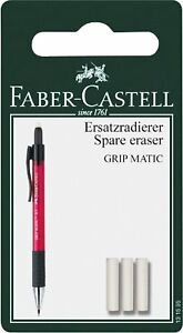 Spare Erasers For Mechanical Pencil Grip Matic Faber Castell 131595