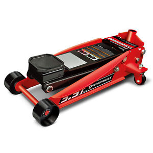 Powerbuilt 3 1 2 Ton Professional Floor Jack Garage Heavy Duty 647530