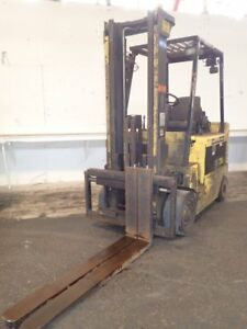 Hyster Erc080hg Electric Forklift 8000 Lbs 02180272505