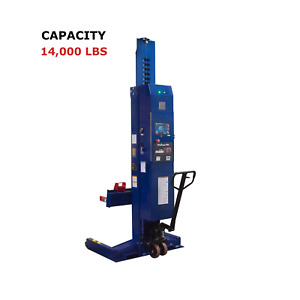 Challenger Lifts Mobile Column Lifts 56 000 Lb Capacity Clhm 140 4 Set Of 4