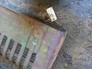John Deere A Tractor Right Side Front Grill Screen Tag 2