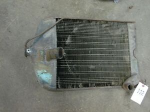 Ford 600 Tractor Radiator dk Tag 332