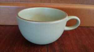 Mid Century Danish Modern Edith Heath Pottery Sandalwood Coffee Cup Stoneware