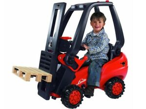 Peddle Powered Forklift Pretend Play Toys Hobbies Outdoor Play Learning