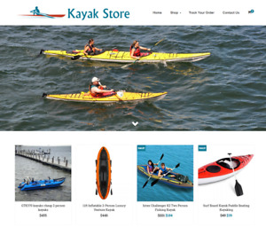 Kayak Store Turnkey Website Business For Sale Profitable Dropshipping