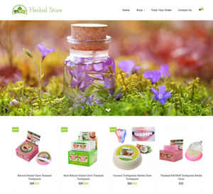 Herbal Store Turnkey Website Business For Sale Profitable Dropshipping