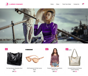 Ladies Fashion Turnkey Website Business For Sale Profitable Dropshipping