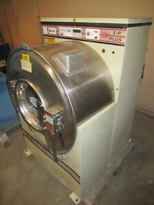Milnor 35lb Front Load Washer Extractor E p Plus 30015m6j 480 Vac 3 Ph Pellerin